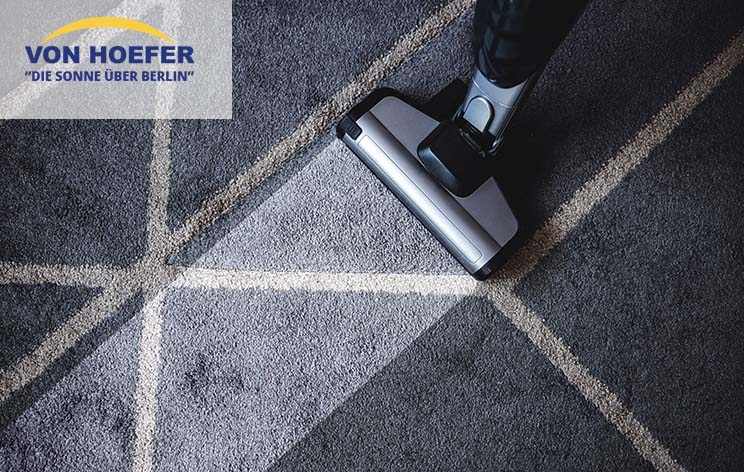 Teppich richtig reinigen - So geht's!